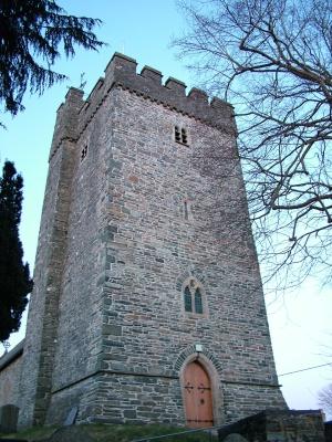 Tregaron: Church